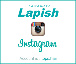 Lapish公式instagram